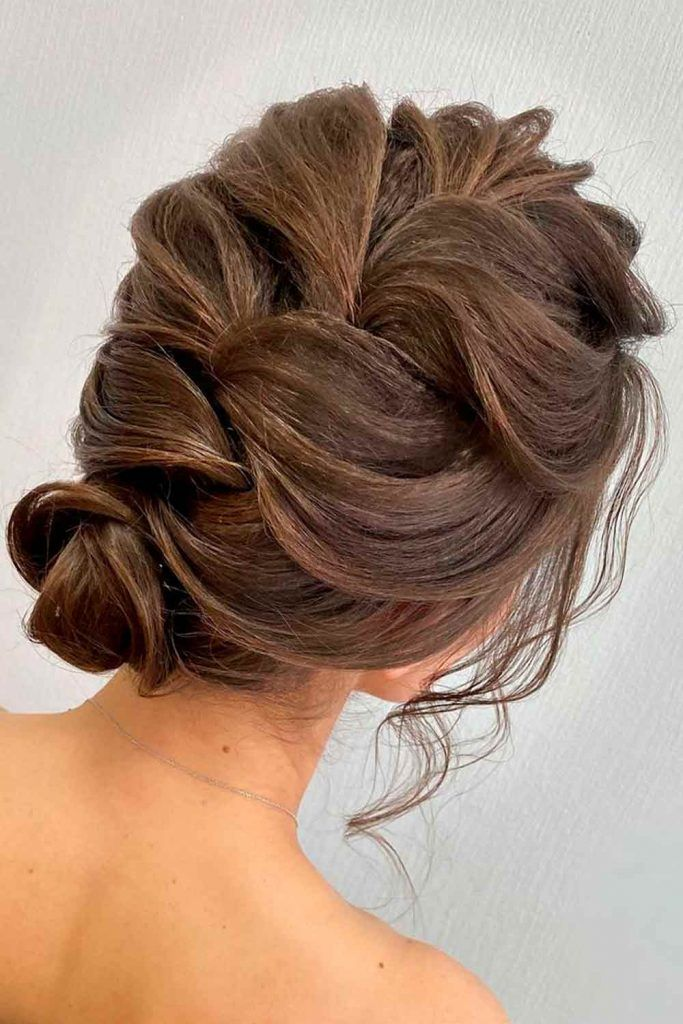 Braided Updo Buns