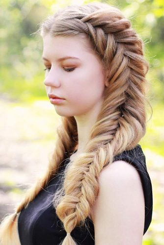 Voluminous Dutch Fishtail Pigtails #braids