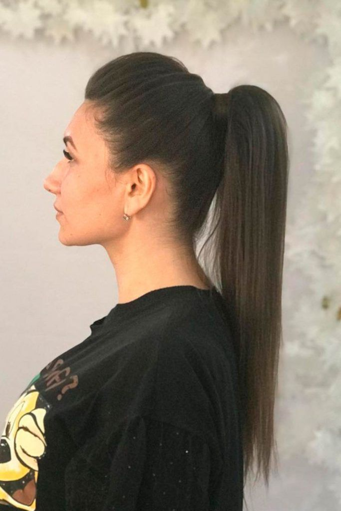 Cute And Effortless High Ponytail