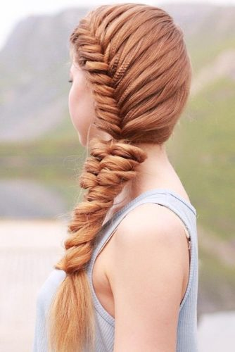 French Fishtail Into A Topsy Tail Braid #braids
