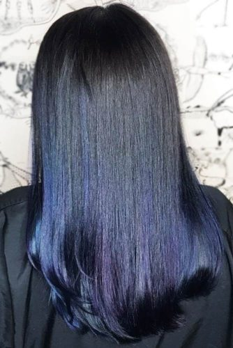 24 Tasteful Blue Black Hair Color Ideas To Try In Any Season
