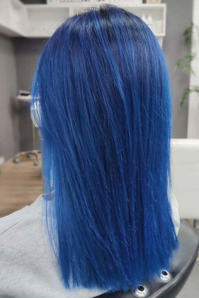 Iced Indigo #blueblackhair #darkblueblackhair