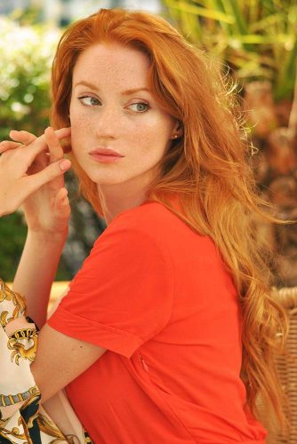 Enviable Ginger Hair Color #redhair #longhair #wavyhair