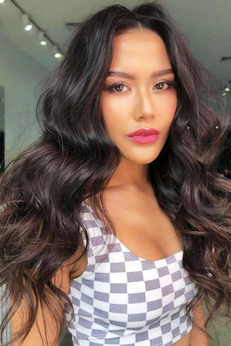 Rich Dark Brown #haircolorchart #brunette