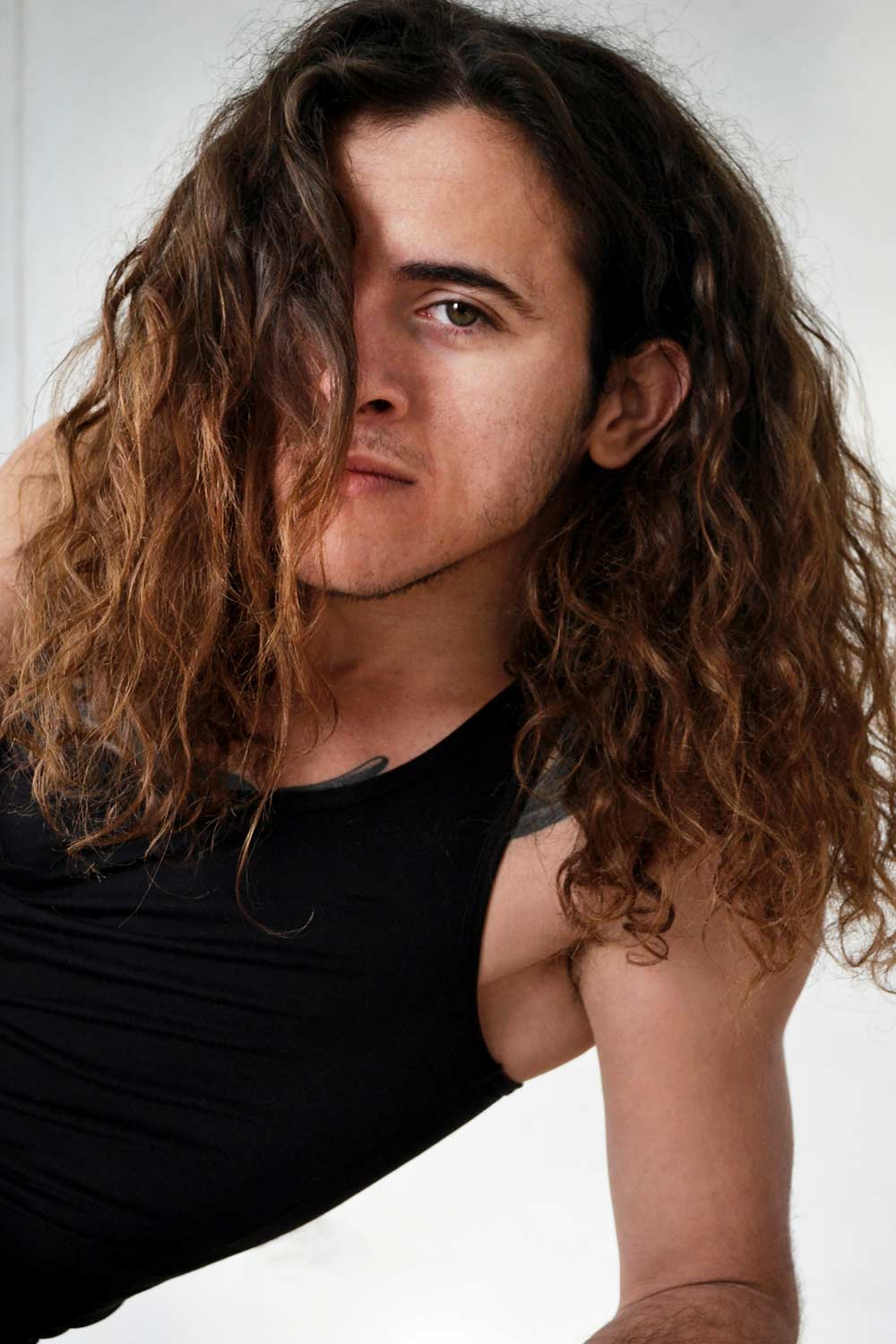 Long Curly Hair For Men