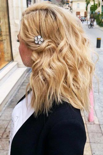 Simple Twist With Accessories #messyhair