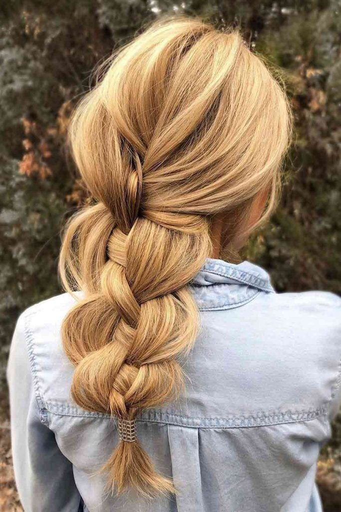 Voluminous Big Braid #braid #braidedhairstyle
