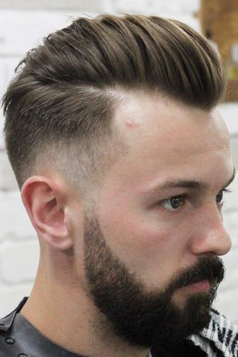 Choose The Right Styling Products #recedinghairline #fade #pompadour