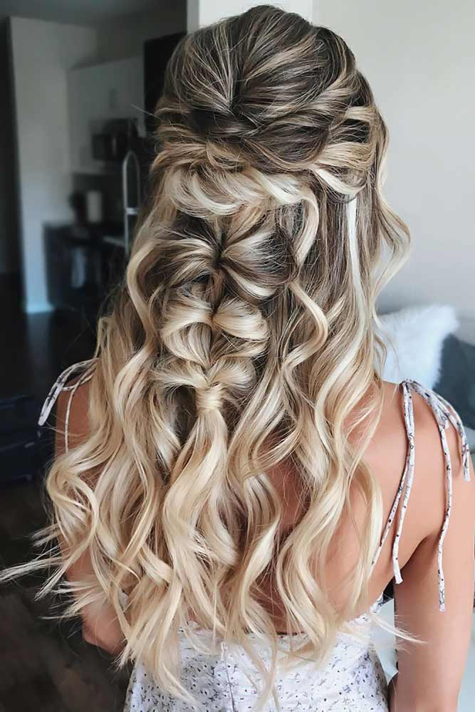 Boho Style Half-Up Braid #topsytail #braids