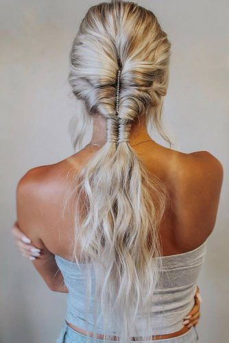 Topsy Tail Into Infinity Braid #topsytail #braids