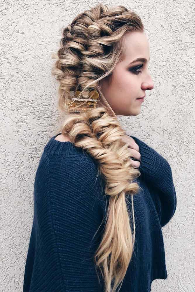 Side Topsy Tail #braids #topsytail