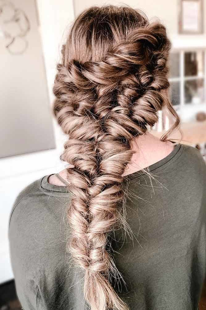 Tight Topsy Tail Braids #braids #topsytail