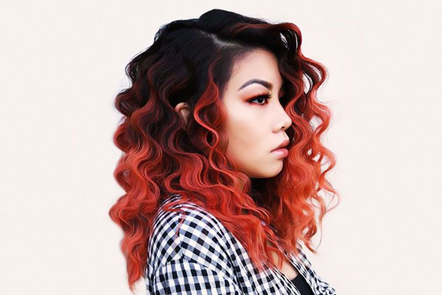 From Stylish 80's With Love: Incredible Modern Hairstyles With Crimped Hair