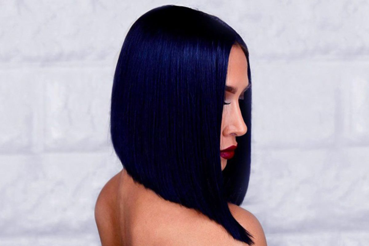 Mysterious Blue Black Hair Color Combinations For Deep And Vibrant Looks