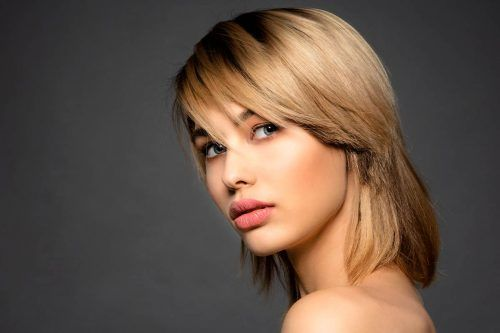 Wispy Bangs Are A Trendy Way To Freshen Up Your Casual Hairstyle