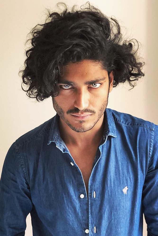 Curly Fringe #curlyhair #curlyhairmen #curlyfringe #menbob