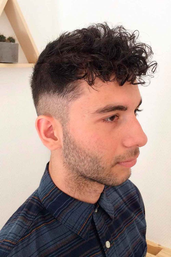 Classic Quiff With Curly Fringe