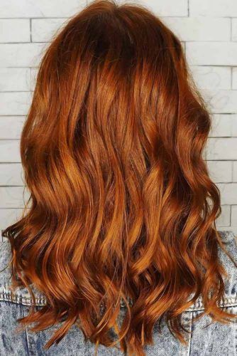 All Over Dark Copper #redhair #darkredhair