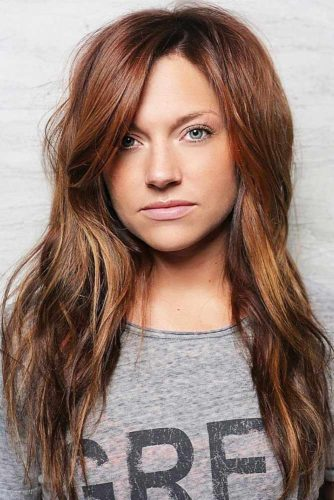 Auburn Hair #redhair #ombre