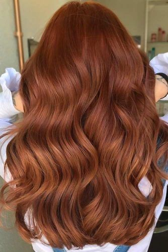 Brick Red Balayage #redhair #darkredhair