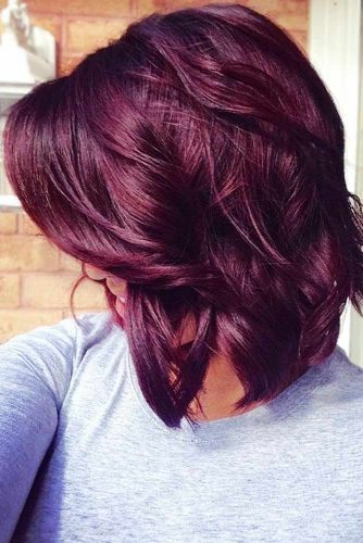 Burgundy Hair #redhair