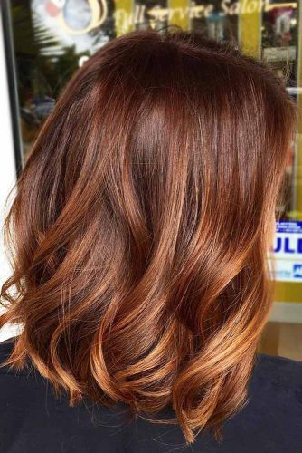 Cinnamon Hair Color #redhair #balayage