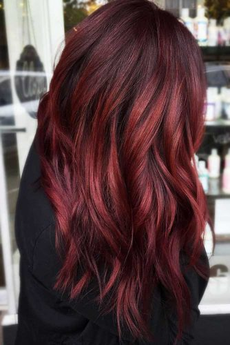 Intense Red Hair Color #redhair
