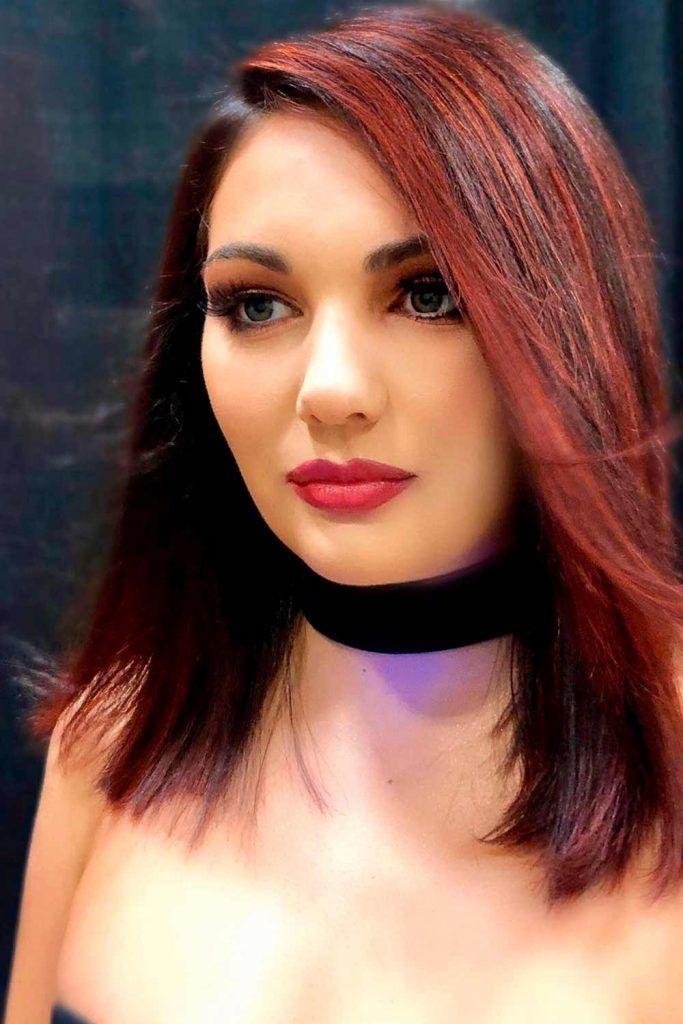 Garnet Red Hair