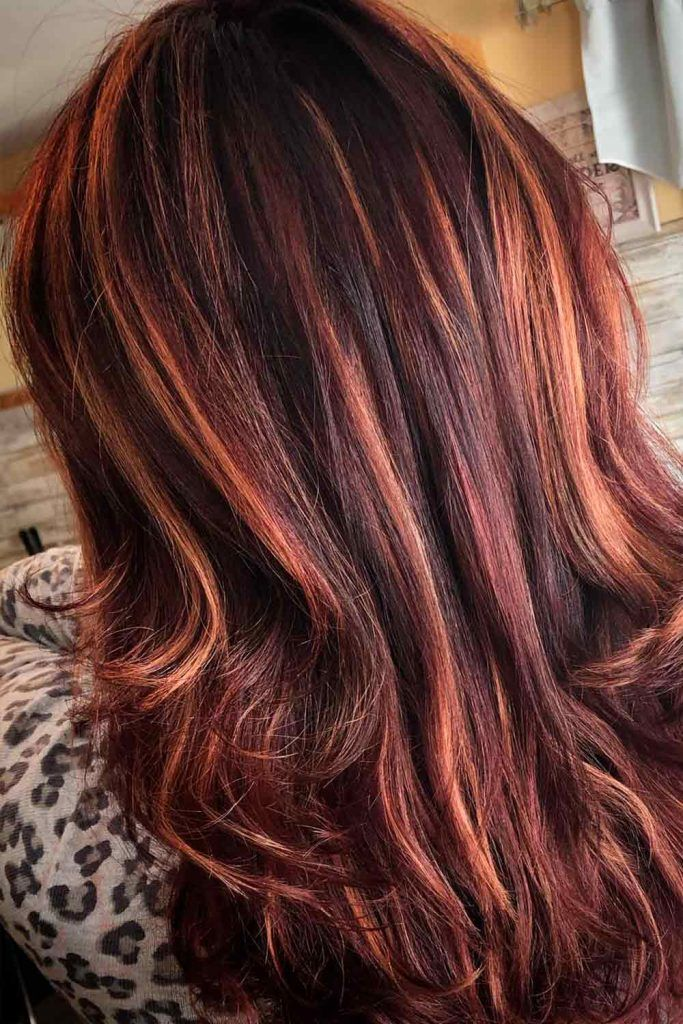Sangria Red Hair