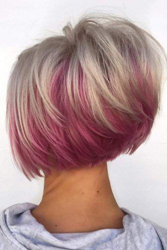 Two Toned Feathered Hair Cut #featheredhair #featheredhaircuts #haircuts #shorthair #bobhaircut