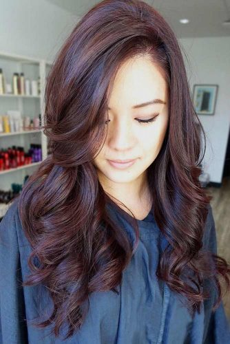 Chocolate Mahogany Tint #redhair #brunette