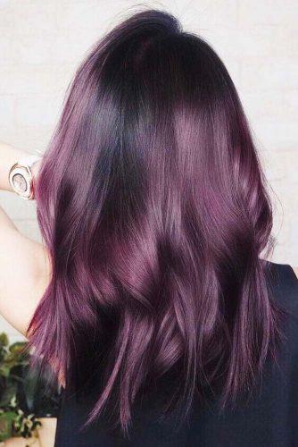 Dark Mahogany #redhair #brunette
