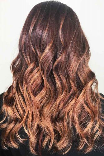 Dusty Rose Mahogany #redhair #ombre