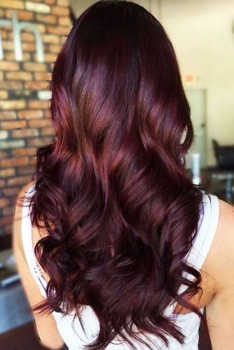 Mahogany Hair Color #redhair #brunette #balayage