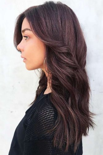 Mahogany Subtlety #redhair #brunette