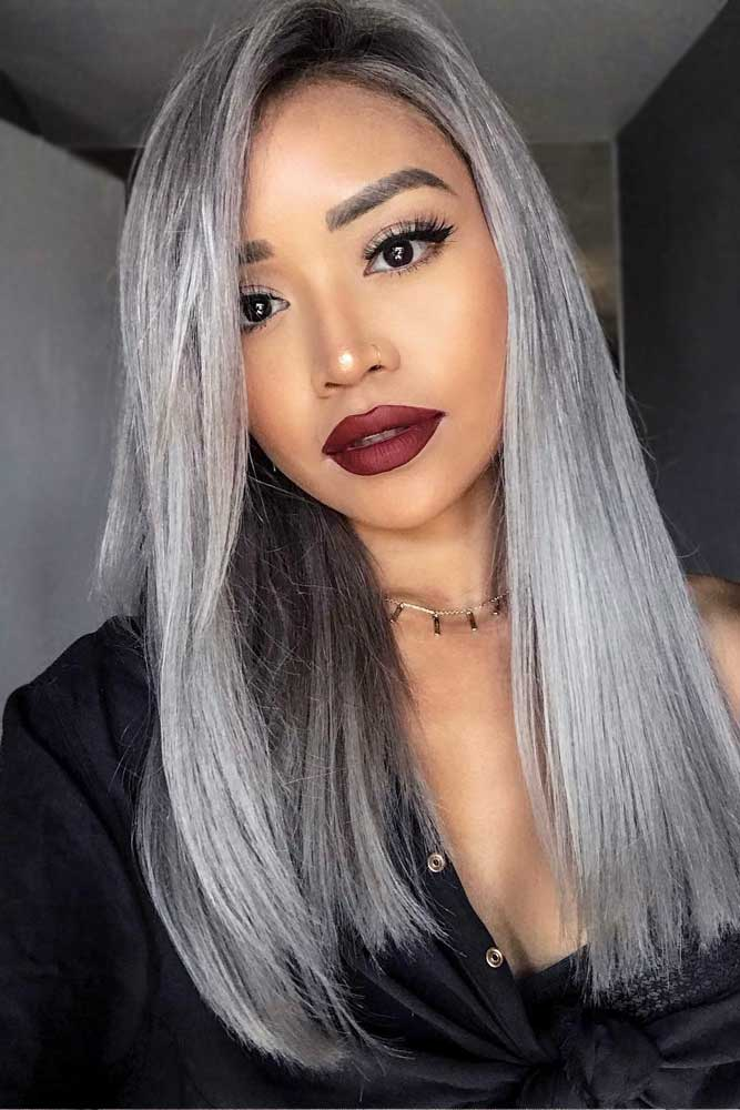 Straight Long Hair #asianhairstyles #hairstyles #longhair