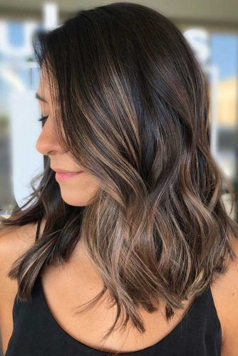 Soft And Subtle Cool Brown #highlights #partialhighlights