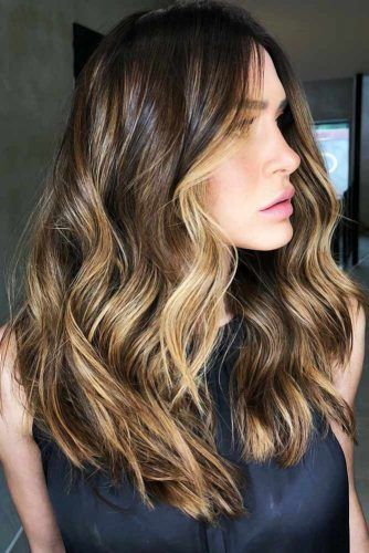 Subtle Blonde Highlights #highlights #partialhighlights