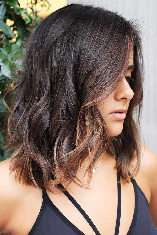 Soft And Effortless Browns #highlights #brunette #wavyhair