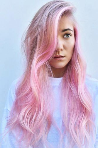 Light Pastel Pink #temporaryhaircolor