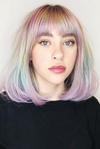 Pastel Rainbow #temporaryhaircolor