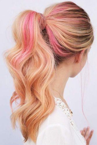 Pink Butter Pony #temporaryhaircolor