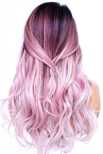 Pink Ombre Hair #temporaryhaircolor #pinkhair #ombre