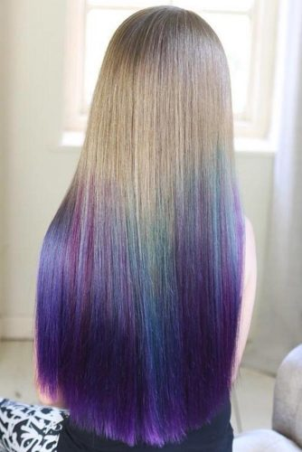 Temporary Hair Color Spray #temporaryhaircolor #ombre