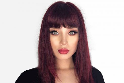 Luxurious Dark Red Hair: Choose The Right Tone For Your Complexion
