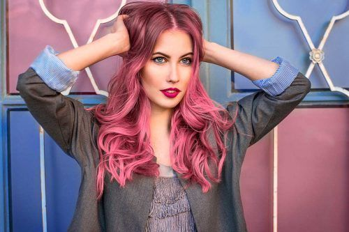Popular Ways And Inspiring Ideas To Pull Off Temporary Hair Color