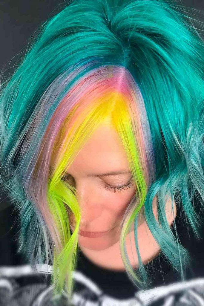 Face Framing Unicorn Balayage