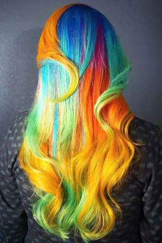 How To Get Unicorn Hair #unicornhair