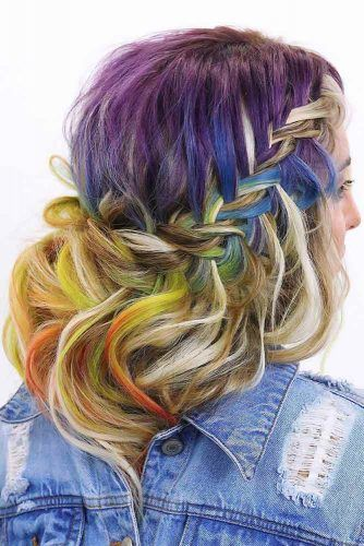 Five Strand Rainbow #unicornhair