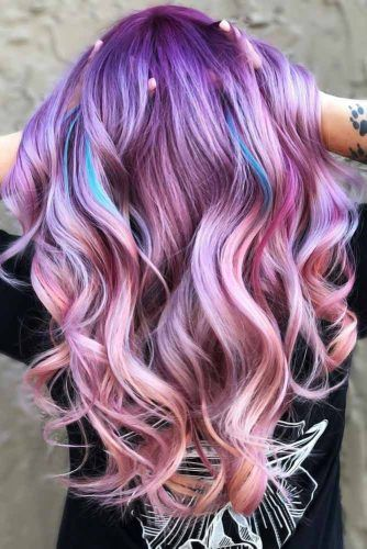 Ice Berry #unicornhair
